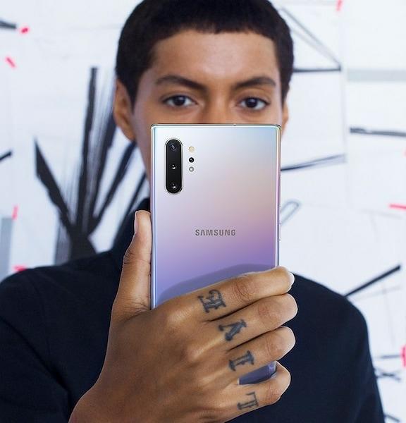 Notebook GSM - Samsung Galaxy Note 10 Mobiltelefon, Kártyafüggetlen, Dual SIM, 256GB