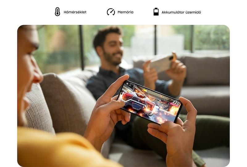 Notebook GSM - Samsung Galaxy A71 Mobiltelefon, Kártyafüggetlen, Dual Sim, 128GB, Fekete